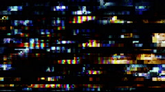 Digital TV Noise Video Background 1504 - 1080p Stock Footage