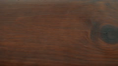 Wood. Brown wooden background. Full HD with motorized slider. 1080p. Stock Footage