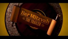 Bar Mitzvah Trailer Invitation Stock After Effects
