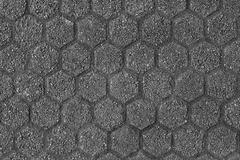 Hexagon pattern texture Stock Photos