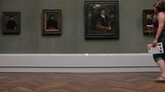 Berlin art gallery ( Berliner Gemäldegalerie), Germany Stock Footage