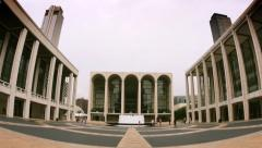 4K Lincoln Center Establishing Shot Stock Footage
