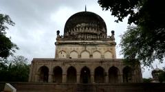 Qutub-Shahi-Tombs Stock Footage