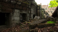 Preah Khan temple slider timelapse 2 4K Stock Footage