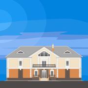 Home residential Stock Illustration