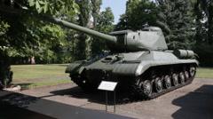 Heavy tank IS-2 (Iosif Stalin) Stock Footage