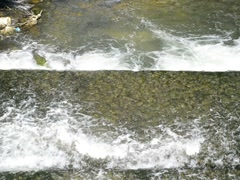 River Fils in Germany Stock Footage