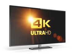 4K UltraHD TV Stock Illustration