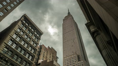 New York Timelapse Empire state bulding timelapse 0514 4K Stock Footage