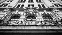 colonial architecture - stock photo