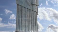 Reedmen Christ (Cristo Redentor) in Rio de Janeiro, Brazil - Latin America Stock Footage