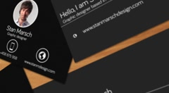 Business cards mock-up Stock After Effects