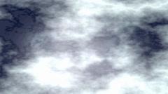 Cloudy Dark Night Sky Motion Graphic Animation - stock footage