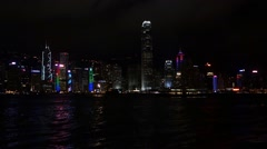 Hong Kong Island. - stock footage