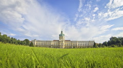 Charlottenburg Palace in Berlin, Germany Stock Footage
