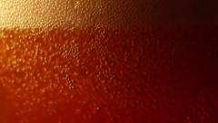Beer, macrro Stock Footage
