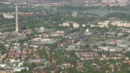 Stock Video Footage of 4K Budapest Hungary Aerial View 37 northern part