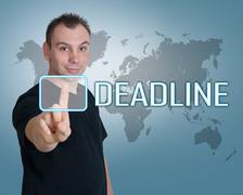 Stock Illustration of deadline