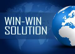 Win-win solution Stock Illustration