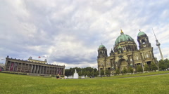 Berlin Cathedral (Berliner Dom), Germany - stock footage