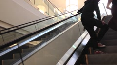 apple store inside mall - stock footage