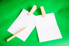 Paper note Stock Photos