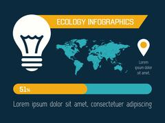 Stock Illustration of Ecology Infographic Element