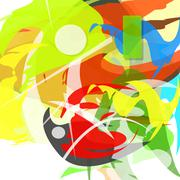 Stock Illustration of colorful abstract. vector illustration.