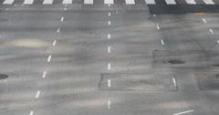 4K Street Traffic 11 LA Downtown Stock Footage