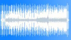 Bass guitar shuffle - stock music