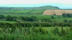 Irish countryside Stock Footage