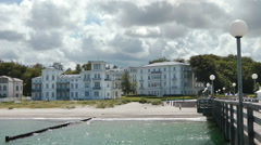 Heiligendamm, Mecklenburg Western Pomerania, Germany Stock Footage
