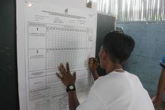 Vote for Indonesia Presidential Election - stock photo