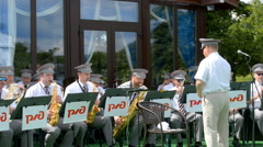 Brass band Stock Footage
