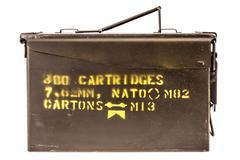Ammo box Stock Photos
