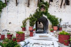 saint george monastery, greece - stock photo