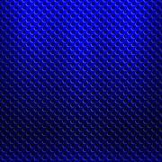Abstract seamless metallic pattern with hexagon grille Stock Illustration