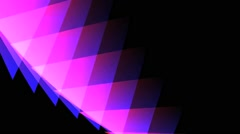 Minimal A Motion Background Triangle - stock footage