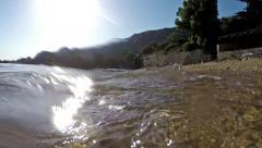 Vacation at Corfu Island Stock Footage