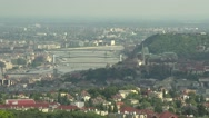 Stock Video Footage of Budapest Hungary Aerial View 27