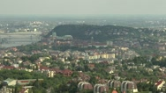 Stock Video Footage of Budapest Hungary Aerial View 29