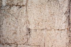 Fragment of ancient masonry walls Stock Photos