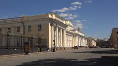 The ethnographic Museum in Saint-Petersburg. 4K. Stock Footage