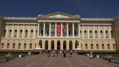 State Russian Museum in St. Petersburg 4K. Stock Footage