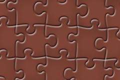 Abstract puzzle background Stock Illustration