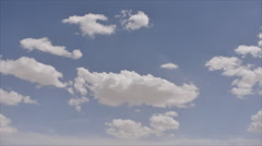 fast moving clouds - stock footage