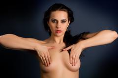 Beautiful nude woman Stock Photos