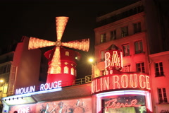 Moulin rouge Stock Footage