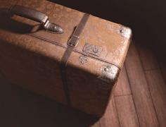 Stock Illustration of Abandoned Suitcase