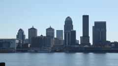 Louisville KY - Broll Skyline rack focus Stock Footage